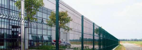 Забор из сварной сетки Полимер 2030х2500х3/4 мм