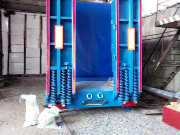 продается тандемный прицеп 2 осный с тентом грузоподъемность 15 тонн, в новосибирске