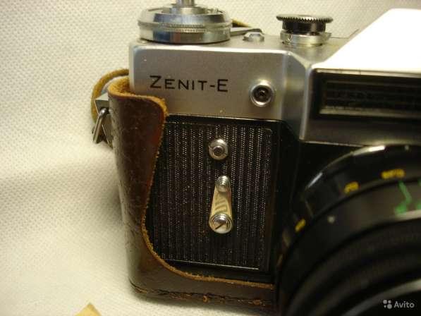 Фотоаппарат Зенит-Е объектив Гелиос 44-2