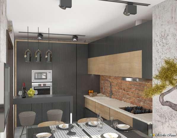 Дизайн интерьера комнаты, квартиры, дома. Уникальный стиль в Краснодаре фото 9