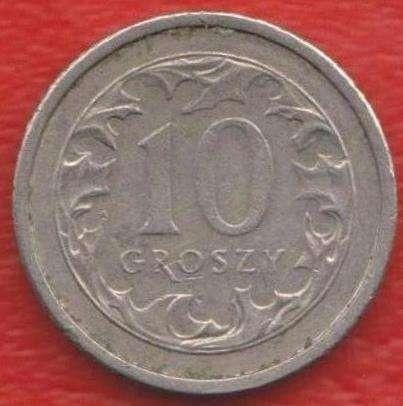 Польша 10 грош 1992 г