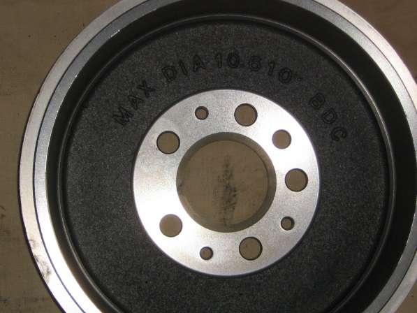 Тормозные барабаны на Volkswagen Transporter Т4