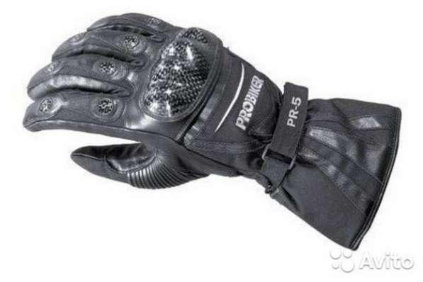 Кожаные перчатки Probiker PR-5 (новые - XL)