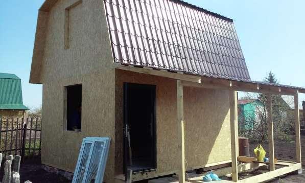 Строим каркасные и брусовые дома, бани в Омске