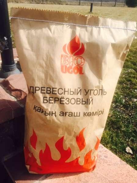 Уголь древесный березовый - 5 кг