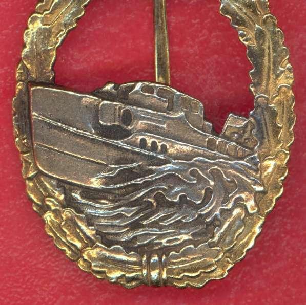 Германия Нагрудный знак торпедный катер Шнельбот