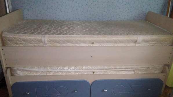 Кровать двухъярусная-выдвижная