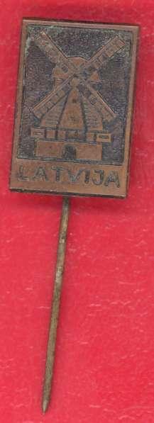 Латвия Latvija Ветряная мельница Тяжелый металл