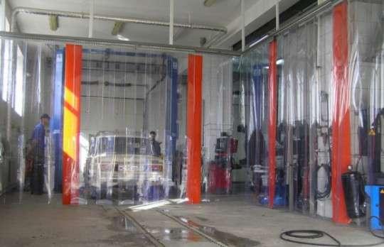ПВХ завесы жалюзи на склад камеру в Самаре