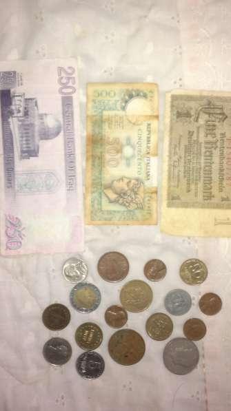 Монеты, купюры, копейки
