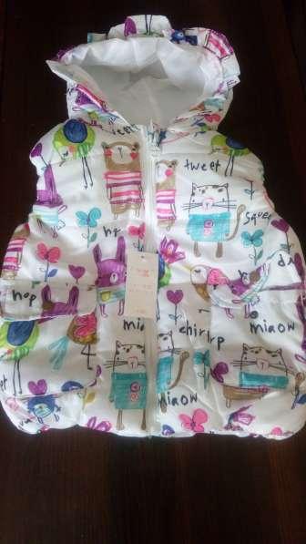 Новая жилетка для девочки