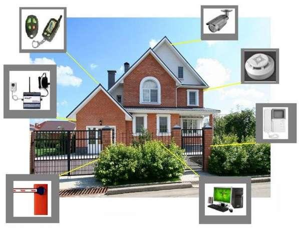 Монтаж систем умный дом