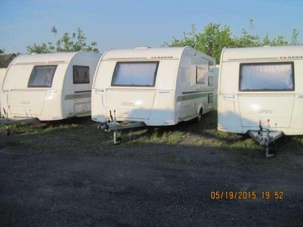 Прицеп дача Altea 552 PVK02 и Adora 563TKV02, 563 PTV02