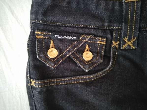 Dolce&Gabbana женские джинсовые шорты новые S 100% authentic в фото 5