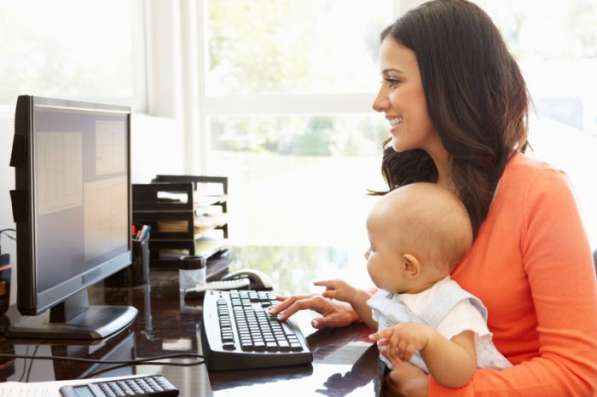 Работа на дому для мам в декрете, студентов, пенсионеров