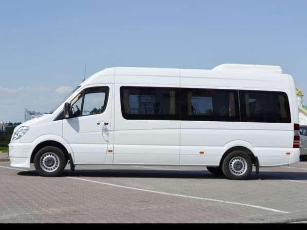 Прокат микроавтобуса Мерседес Спринтер новый в Минске