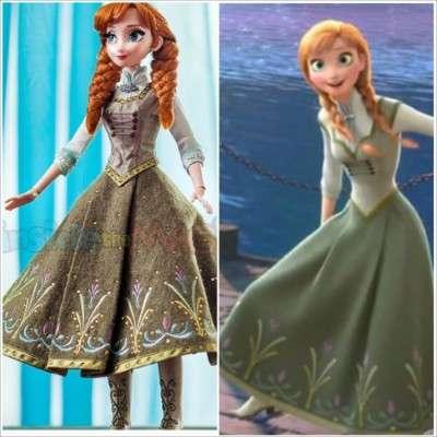 Лимитированная кукла Анна холодное сердце Дисней