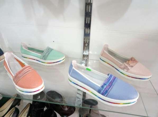 Новые кожаные туфельки