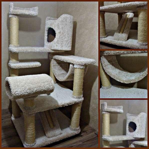 Изготовление комплексов и домиков для кошек на заказ в Ростове-на-Дону фото 5
