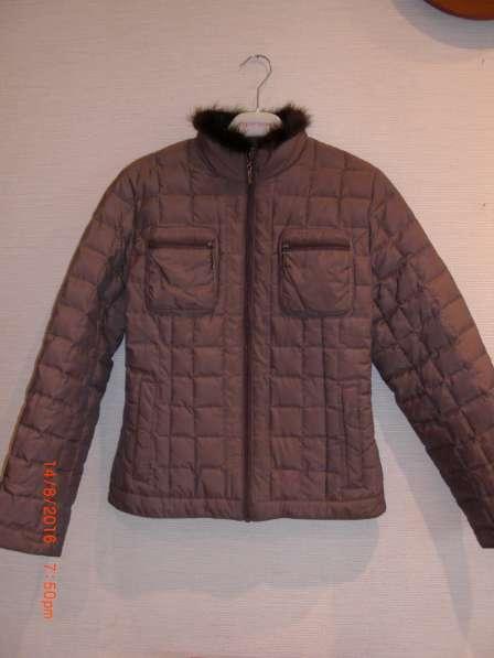 Куртка-пуховик, новая