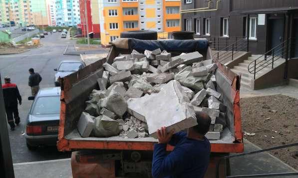Уборка и вывоз строительного мусора, мебели, хлама на свалку