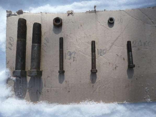 Болты, гайкиМ8х50 дл. резьбы 25мм- 97кг (гост) М8х70 дл