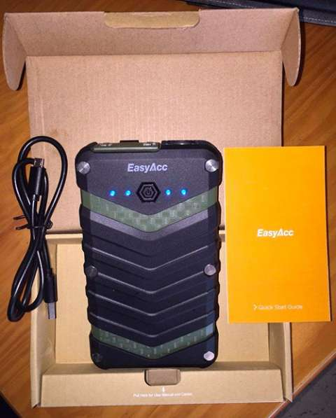 Power Bank 20000 mAh (EasyAcc Rugged IP67) в Керчи