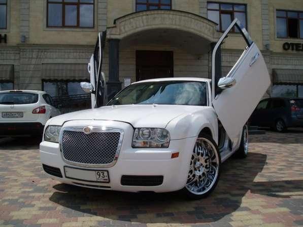 Аренда прокат авто Крайслер на свадьбу в Краснодаре
