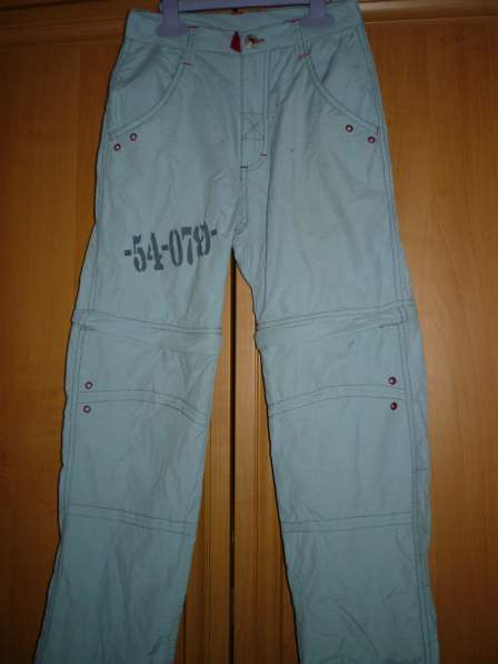 Летние брюки-шорты