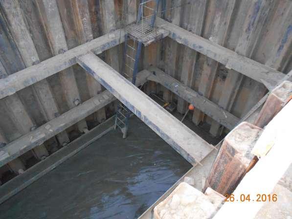 Вибропогружение шпунта при креплении котлованов и траншей в Сургуте фото 10