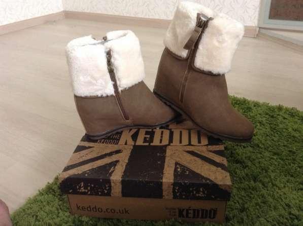 Легкие, удобные ботинки KEDDO