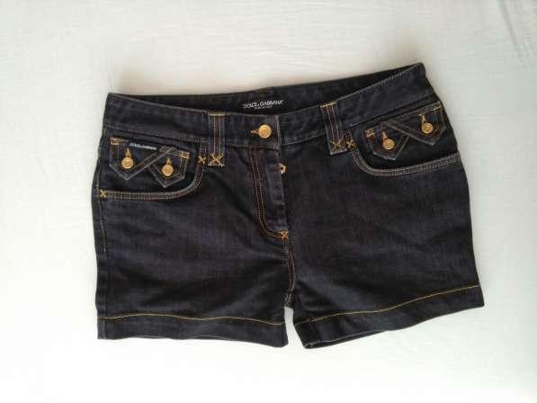 Dolce&Gabbana женские джинсовые шорты новые S 100% authentic в фото 9