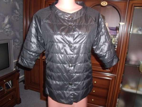 Ультрамодная куртка с рукавом 3/4 новая р.46