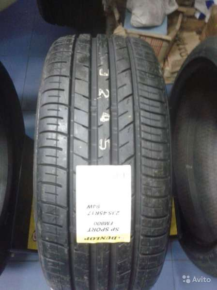 Новые Dunlop 215 55 R18 SP Sport FM800 95H