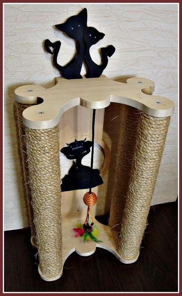 Изготовление комплексов и домиков для кошек на заказ в Ростове-на-Дону фото 18