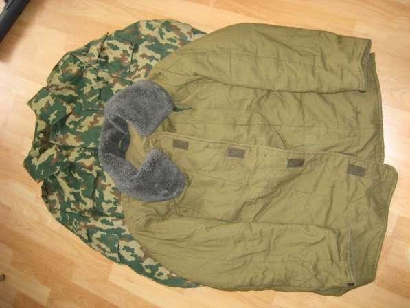 Куртка камуфляжная (летний верх и утепленная подстежка)50-52
