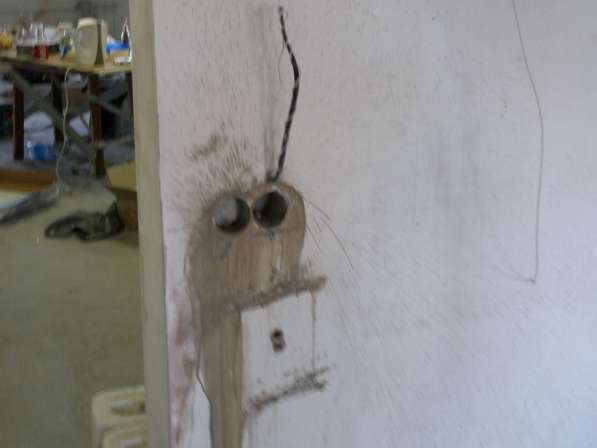 Сверление отверстий под разетки в Иркутске фото 4