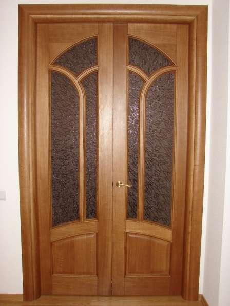Двери деревянные