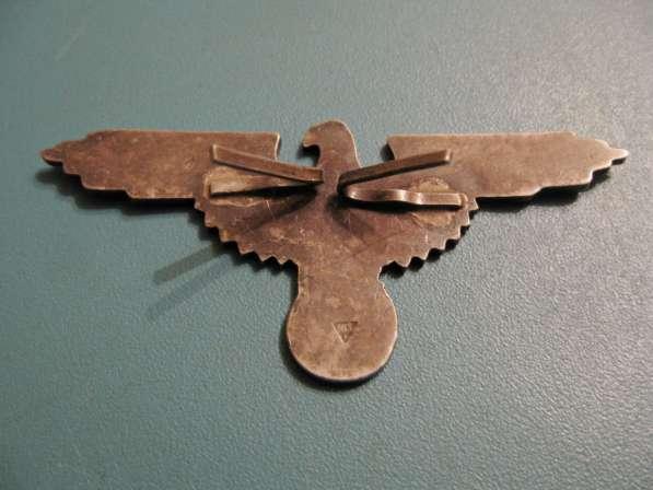 Эмблема и мертвая голова на фуражку эсэсовца (серебро) в фото 4