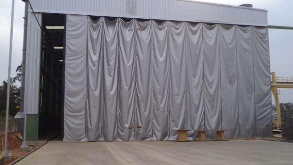 Штора-завеса из ПВХ, брезента для склада, производства, моек в Тольятти