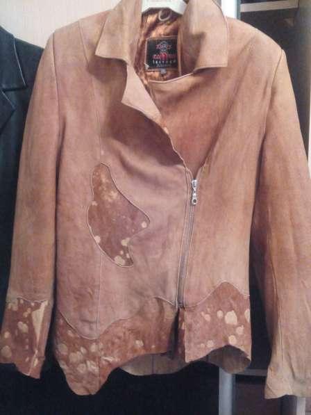 Легкая натуральная курточка р44-48
