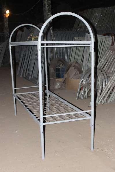 Кровати металлические эконом класса