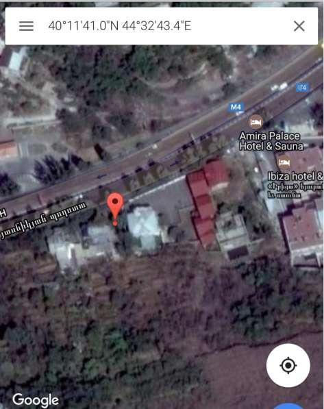 Продается участок для бизнеса в центре Еревана в