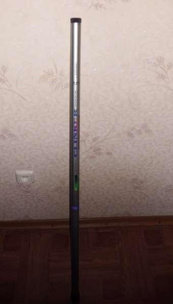Рукоятка для подсака телескопическая, длина 4м без головы, с