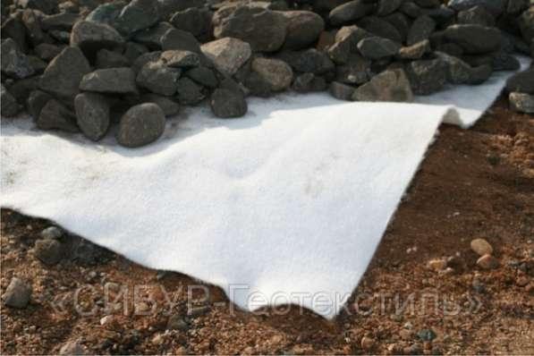Геотекстиль нетканый (дорнит) от 150 г/м2 до 600 г/м2