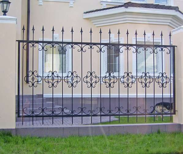 Заборы, ограждения, решетки в Новосибирске фото 5