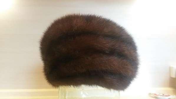 Шапка (шляпа) норковая б/у