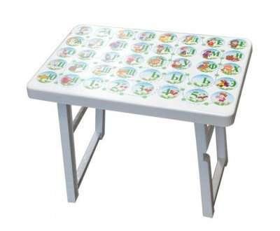 Детский складной стол Алфавит
