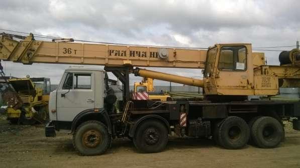 Продам автокран 36 тонн