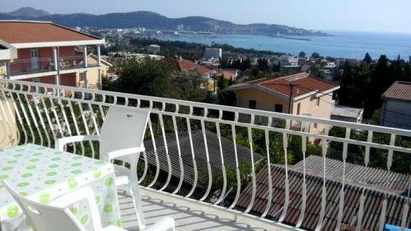 Люкс апартамент на 7 человек с видом на море в фото 4